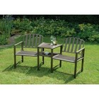 Duo Garden Bench and Table