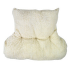 Fleece Back Pillow with Lumbar Support