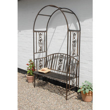 Garden Arbour with Bench
