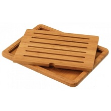 Bamboo Bread Board with Insert 48 x 36cm