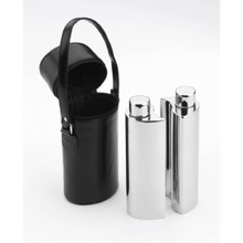 Set of 2 Drinks Flasks in Case