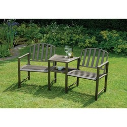 Image of: Duo Garden Bench and Table