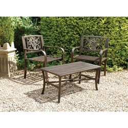 Image of: Pack of 2 Garden armchairs